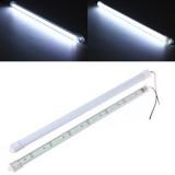 30CM 8520 SMD Cool White LED Rigid Strip Aluminum Milk/Clear Case Tube Light Lamp DC12V