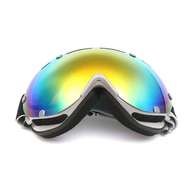 Anti-fog UV Colorful Lens Ski Motorcycle Goggle Outdoor Snow Snowboard Mountain Bike Glasses Eyewear