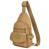 Waterproof Nylon Crossbody Bag Outdoor Shoulder Bag Casual Chest Bag For Men