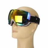 Anti-fog UV Colorful Lens Ski Motorcycle Goggle Outdoor Snow Snowboard Mountain Bike Glasses Eyewear