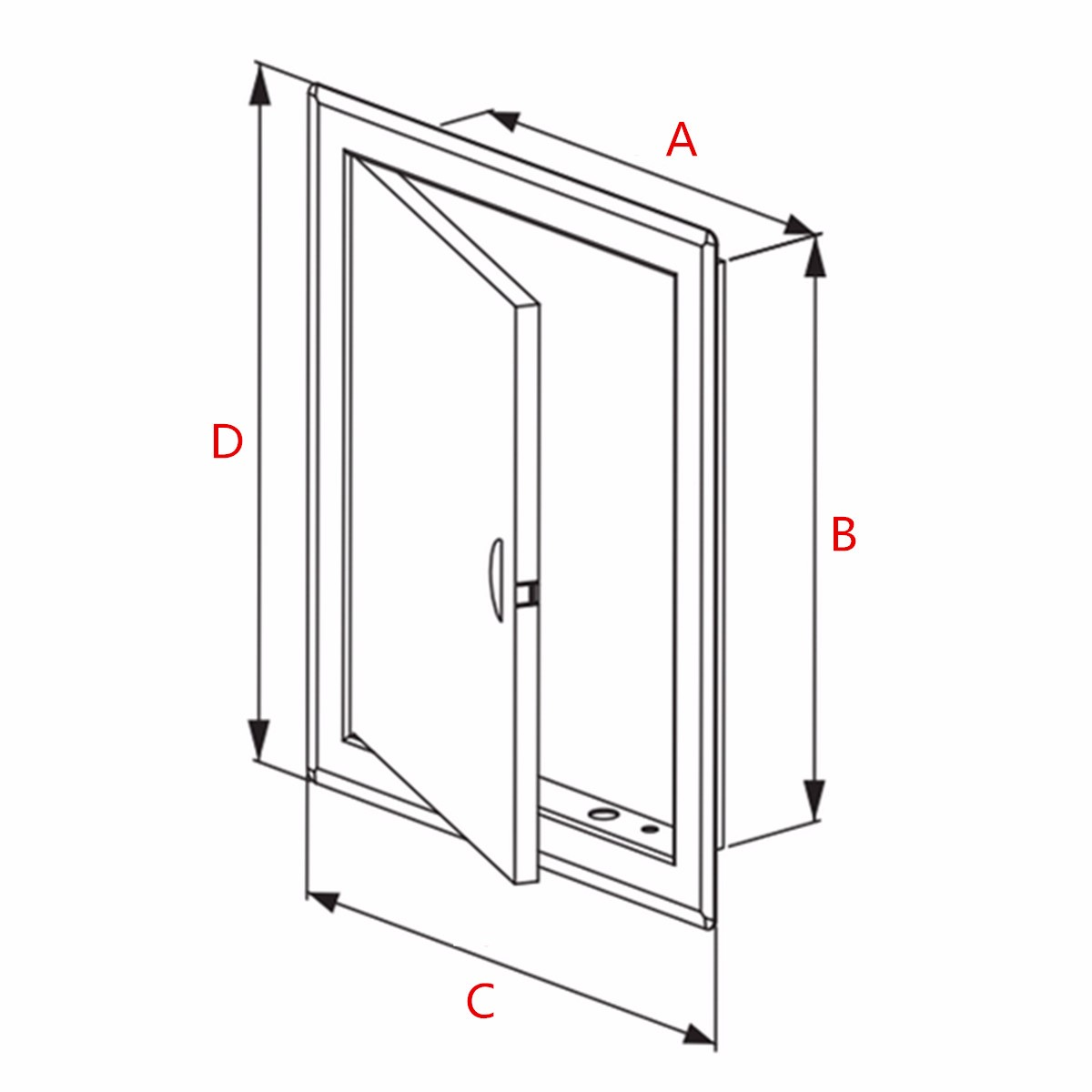 ... c5c7bef7-3d7f-4bf4-ba95-03d51c7c677e.jpg ...  sc 1 st  Alexnld.com & White ABS Plastic Access Panel Inspection Door Revision Hatch ...