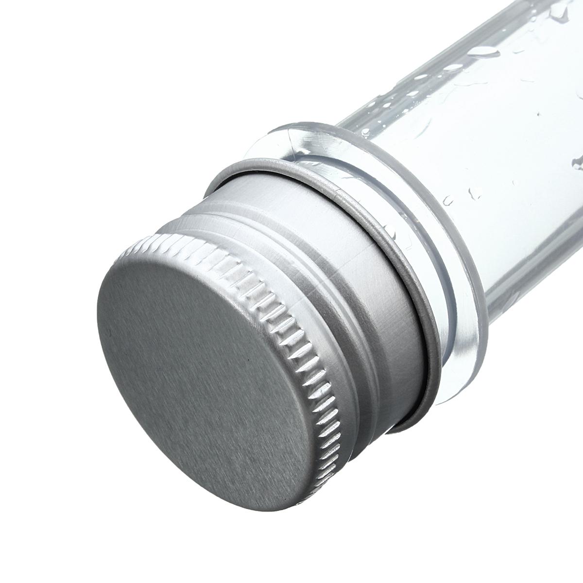 Ml plastic lab round bottom test tube with metal screw