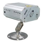 Mini R&G Auto/Sound LED Stage Light Laser Projector Xmas DJ Party Club Lamp + Remote AC110-240V