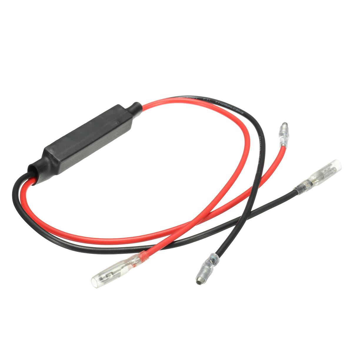 2pcs 12V 10W Flasher Indicator Load Resistor Motorcycle LED Light Flash Blinker