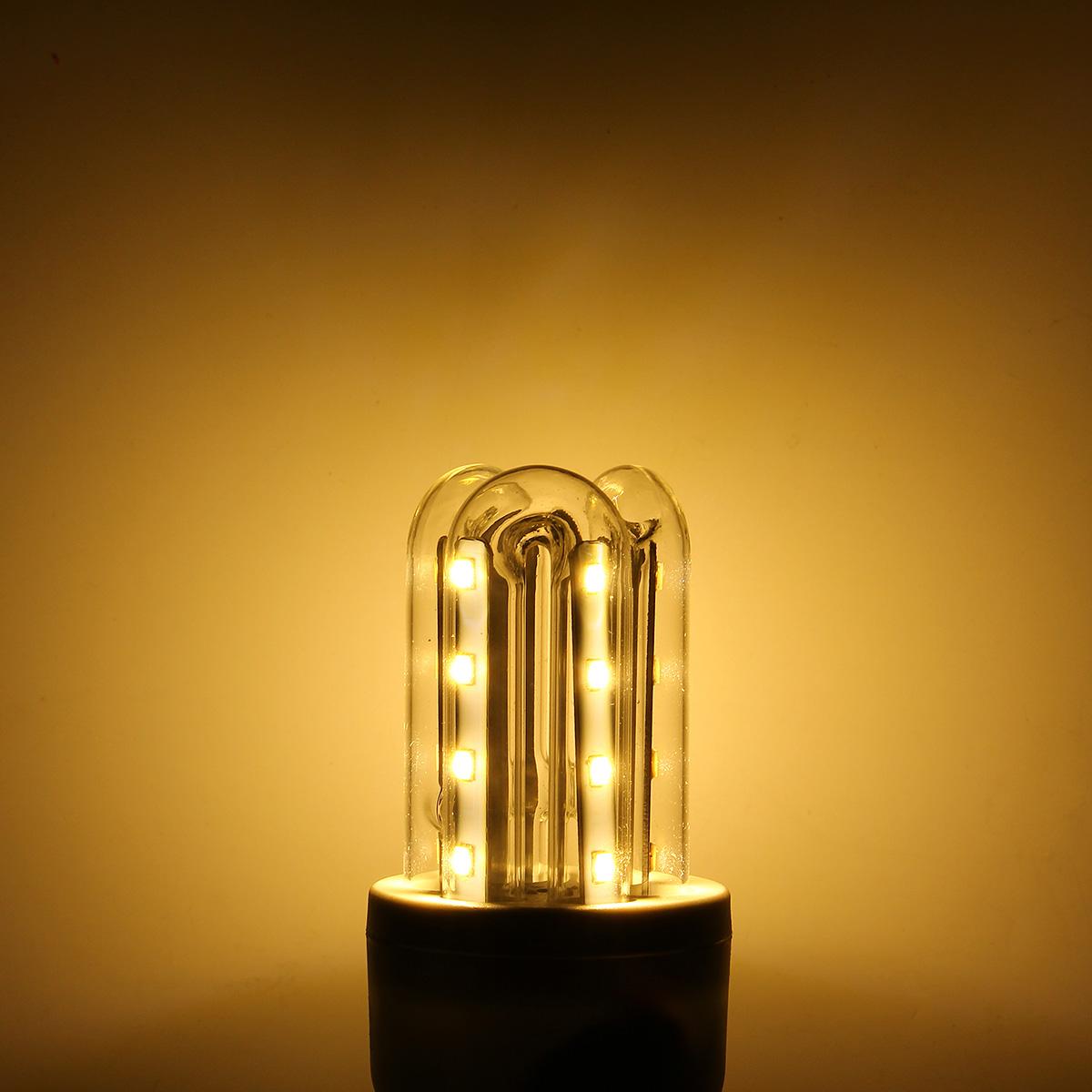 AC90-245V 3W-36W E27 LED Ultra Bright Energy Saving Warm White Light Bulb Lamp