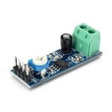 LM386 Module 20 Times Gain Audio Amplifier Module With Adjustable Resistance