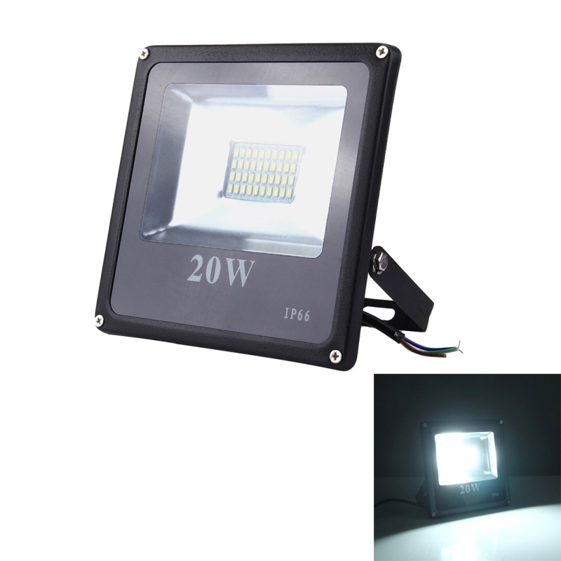 20w Smd Led 12v: 20W 1800LM SMD-5730 IP66 Waterproof LED Floodlight Lamp