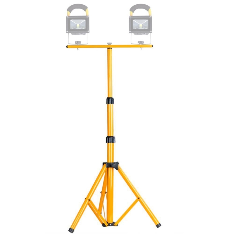 LED Flood Light Lamp Work Emergency Lamp Tripod Stand LED