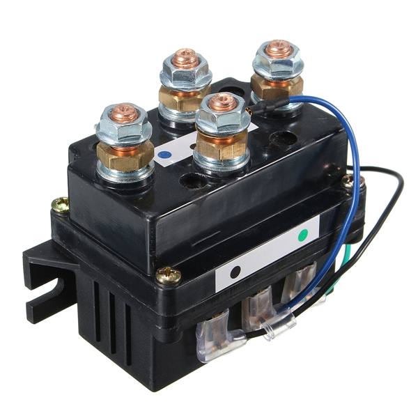 12V DC 400A Electric Winch Solenoid Relay Protector Caps