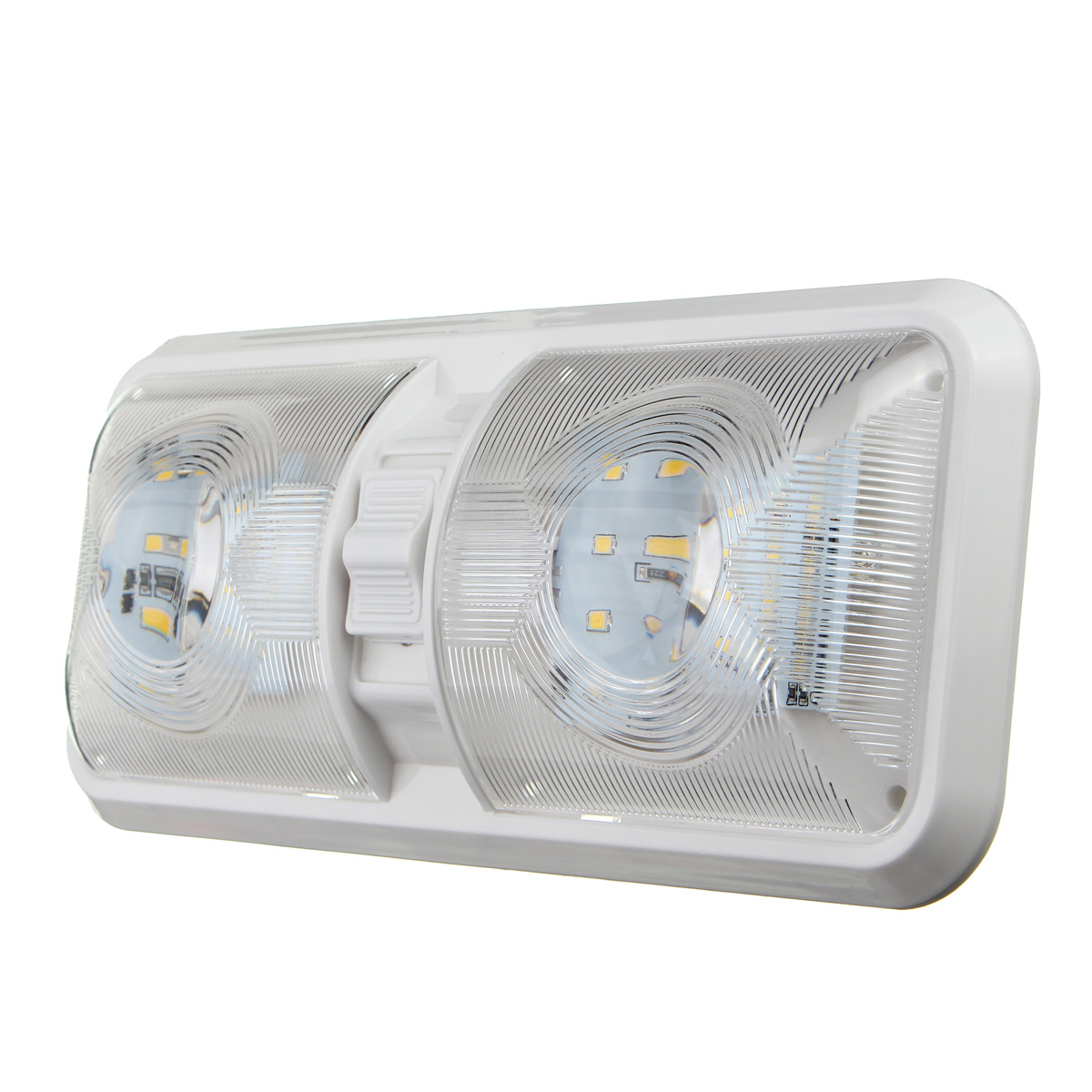 12v 48led 2835 Smd Interior Double Dome Ceiling Light