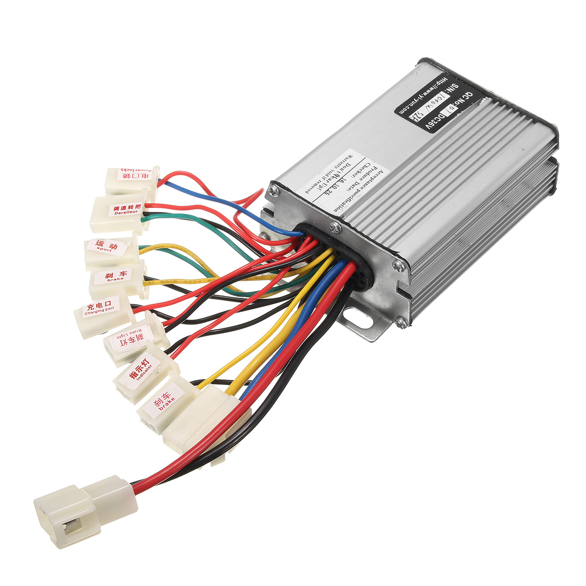 36v 1000w electric scooter motor brush speed controller for Electric motor speed control