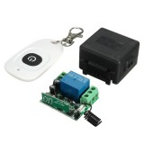 315MHz DC 12V 10A Wireless Switch Remote Control Relay Transmitter Receiver