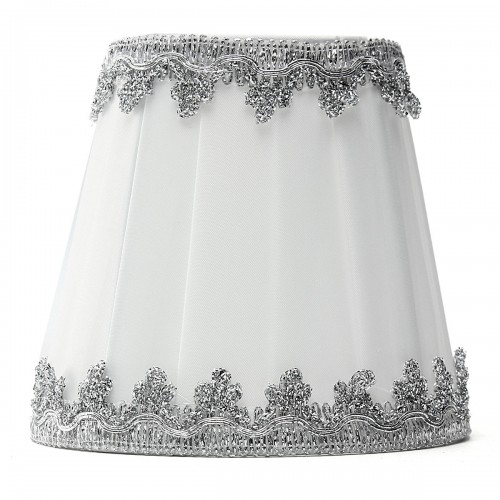 Fabric Chandelier Lampshade Holder Clip On Sconce Bedroom
