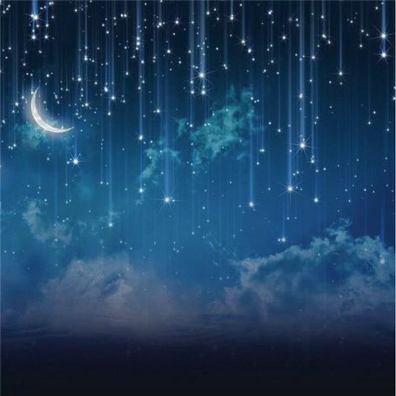 10x10FT Sky Star River Moon Night Photography Studio Vinyl