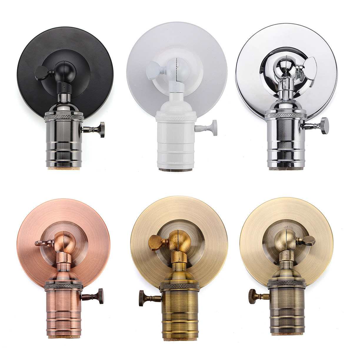 E27/E26 Modern Edison Vintage Ceiling Light Wall Lamp Bulb ...