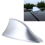 Universal Car Antenna Aerial Shark Fin Radio Signal For Auto SUV Truck Van (Silver)