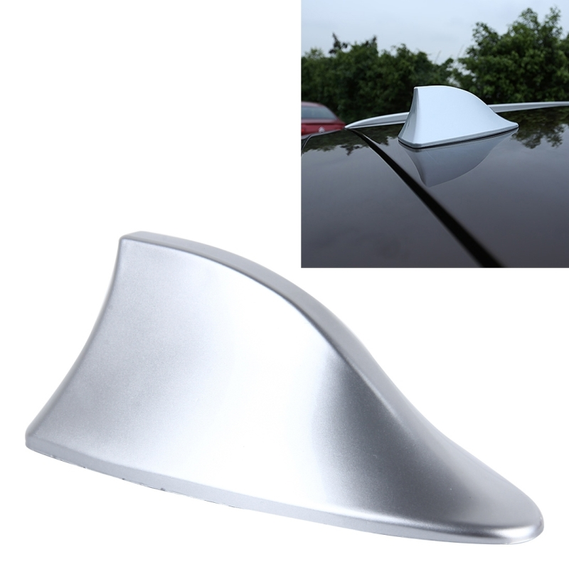 universal car antenna aerial shark fin radio signal for. Black Bedroom Furniture Sets. Home Design Ideas
