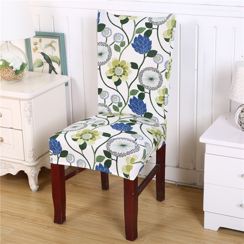 Removable Fashion Dining Chair Cover Protector Seat