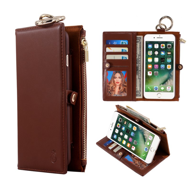 Iphone  Plus Detachable Wallet Case