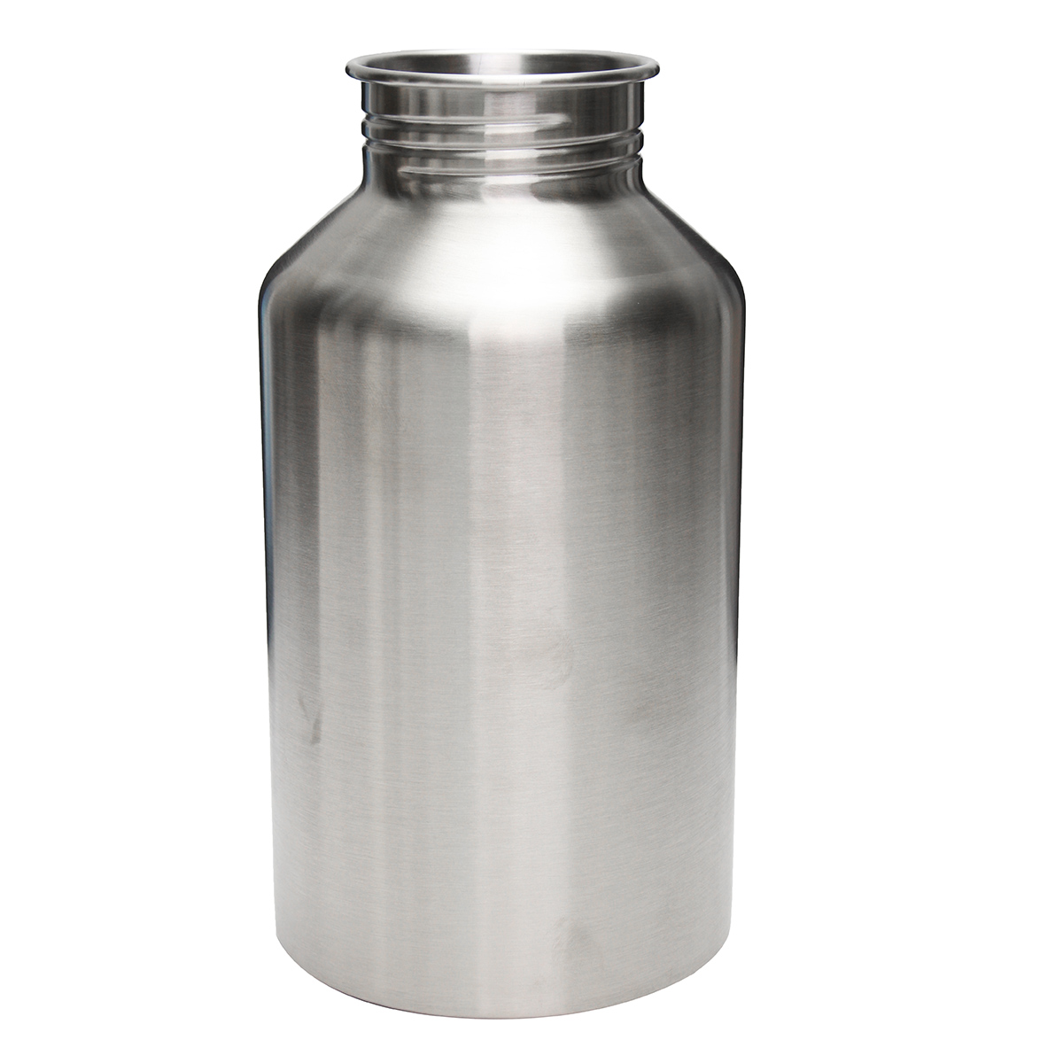 2l Large Stainless Steel Water Bottle Sports Exercise