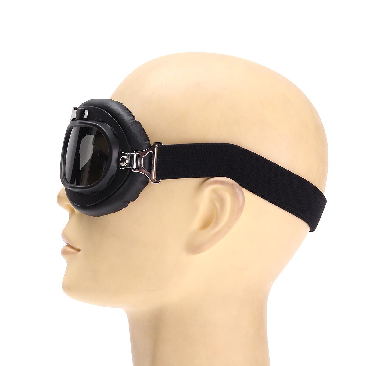 Motorcycle Biker Flying Goggles Helmet Glasses Protector Windproof Anti-UV