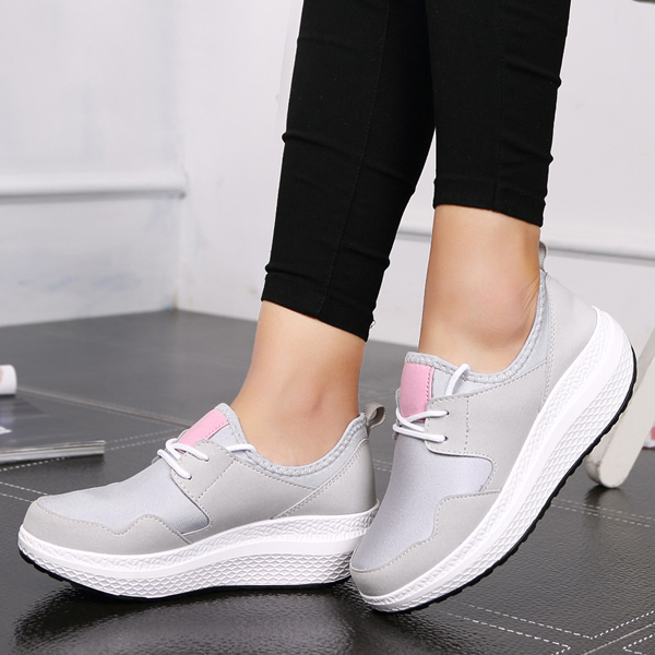 Women Sport Outdoor Rocker Sole Shoes Running Casual Athletic Shoes