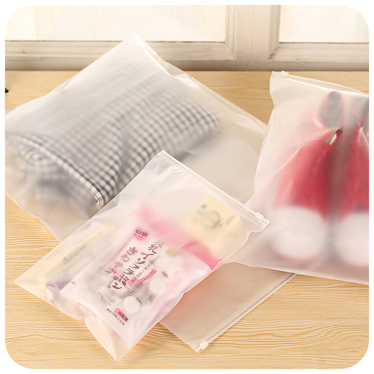 Thicker transparent waterproof clothes storage bag travel wash protect cosmetics plastic storage - Protect clothes colors washing ...