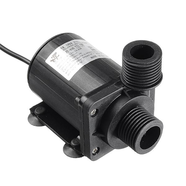 Dc 12v 5 5m 1000l h brushless motor submersible water pump for Dc motor water pump