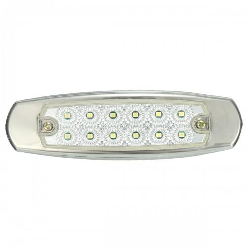 12V LED Side Marker Indicator Light Lamp For Truck Trailer Lorry Van Bus