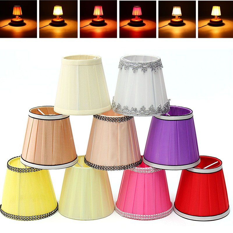 lampshade holder clip on sconce bedroom beside bed lamp hanging light. Black Bedroom Furniture Sets. Home Design Ideas