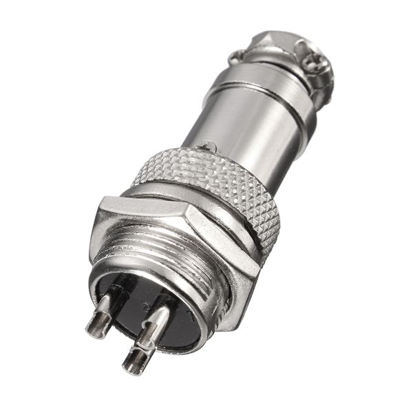 Gx16 3 Pin 16mm Male  U0026 Female Wire Panel Circular