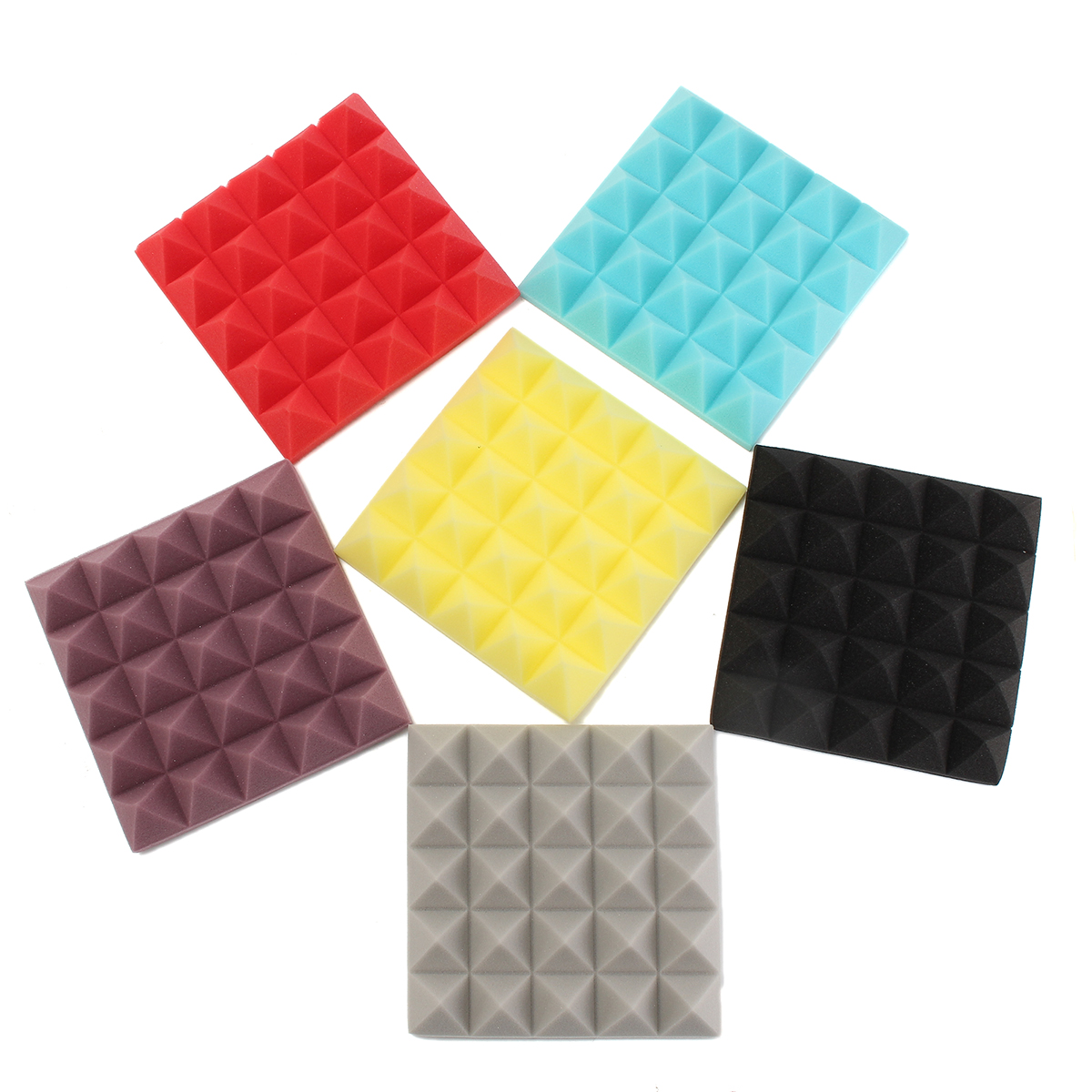 Soundproof foam sound stop acoustic absorption for studio for Soundproof foam