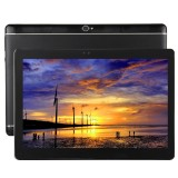 T990 4G Phone Call Tablet PC 32GB, 10.1 inch Android 5.1 MTK6592 Octa Core 1.3GHz, RAM: 2GB, Dual SIM, WiFi, GPS, BT, OTG, with Leather Case (Black)