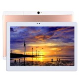 T990 4G Phone Call Tablet PC 32GB, 10.1 inch Android 5.1 MTK6592 Octa Core 1.3GHz, RAM: 2GB, Dual SIM, WiFi, GPS, BT, OTG, with Leather Case (Rose Gold)