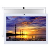 T990 4G Phone Call Tablet PC 32GB, 10.1 inch Android 5.1 MTK6592 Octa Core 1.3GHz, RAM: 2GB, Dual SIM, WiFi, GPS, BT, OTG, with Leather Case (Silver)