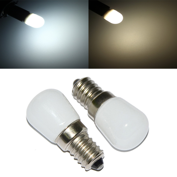 E14 1.5W Mini LED White/Warm White Light Bulb Home ...