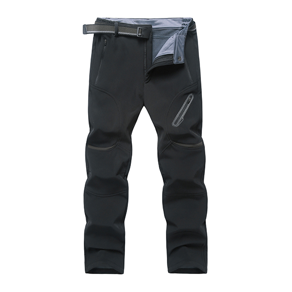 Men's Plus Size M-7XL Moutain Hardwear Pants Waterproof Windproof Polar Fleece Straight Leg Trousers