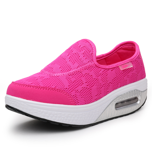 Rocker Sole Shoes Women Slip On Sport Casual Running ...