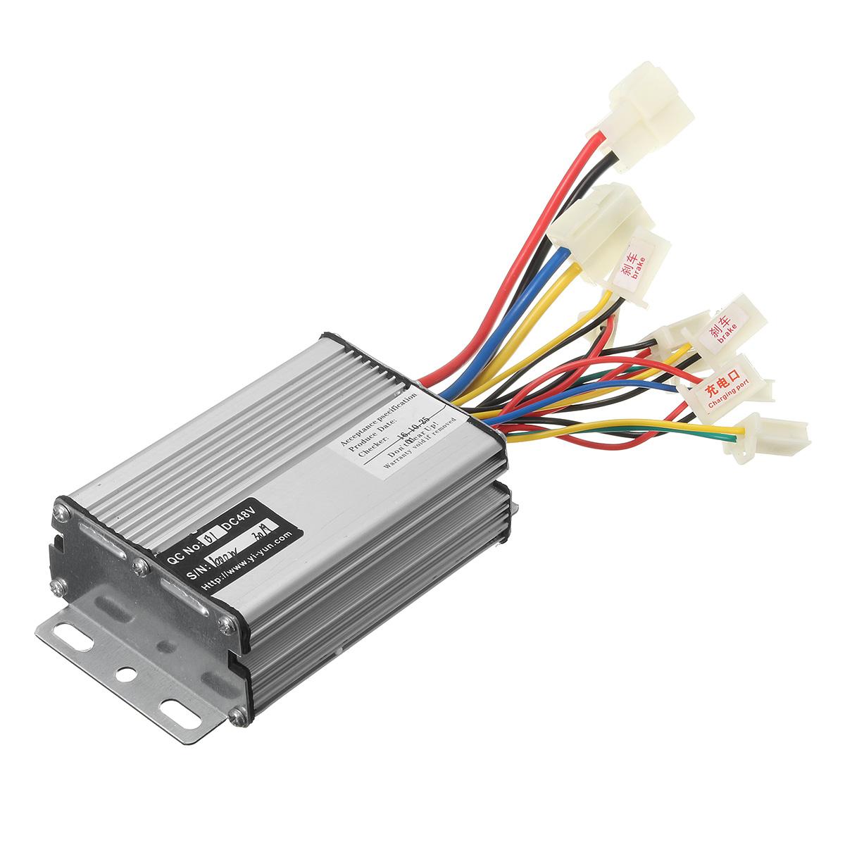 48v1000w electric vehicle motor brush controller scooter for Dc motor controller for electric car
