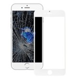 Replacement for iPhone 7 Front Screen Outer Glass Lens with Front LCD Screen Bezel Frame & OCA Optically Clear Adhesive (White)