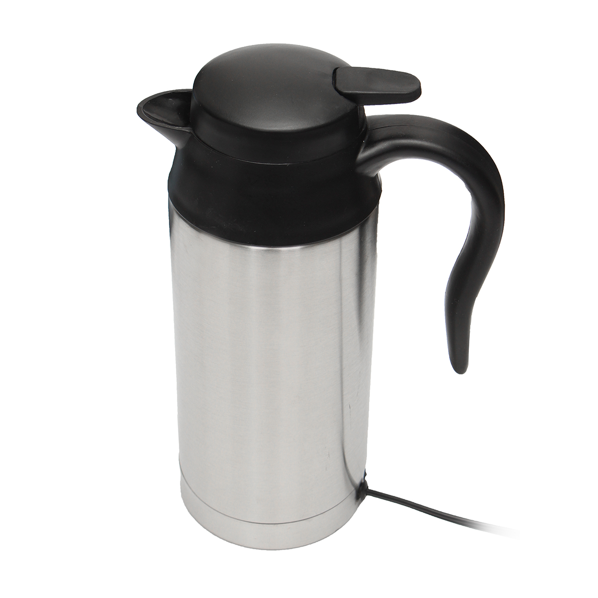 12v 750ml Stainless Steel Electric In Car Kettle Car