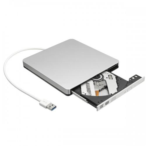 USB External Slot in DVD CD Drive Burner Superdrive for Windows XP/Mac 10 OS