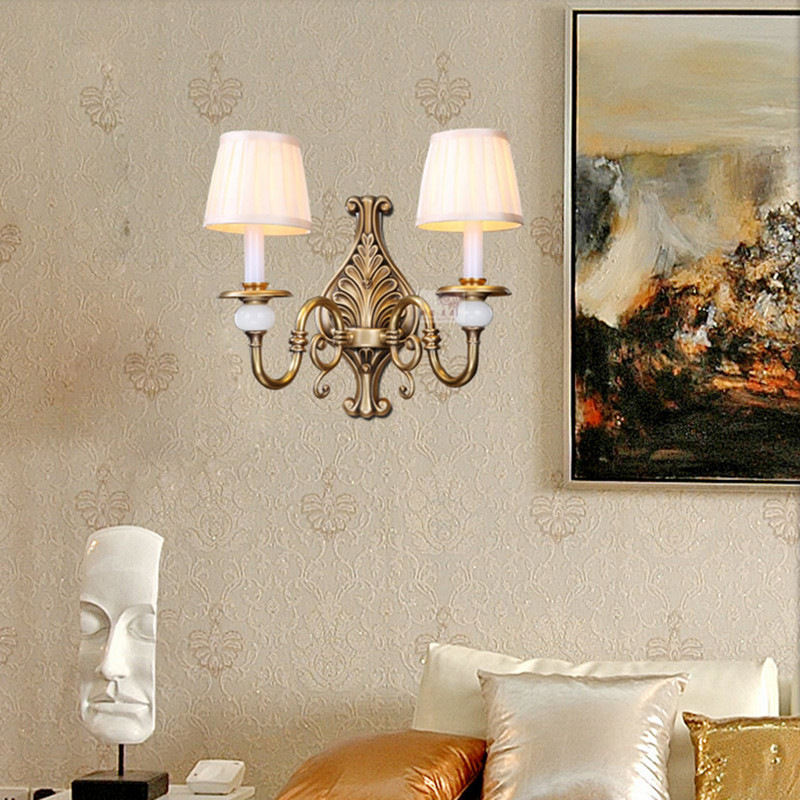 Fabric chandelier lampshade holder clip on sconce bedroom beside bed de82d1ab aad0 4af2 a130 5beb11a83926g aloadofball Gallery