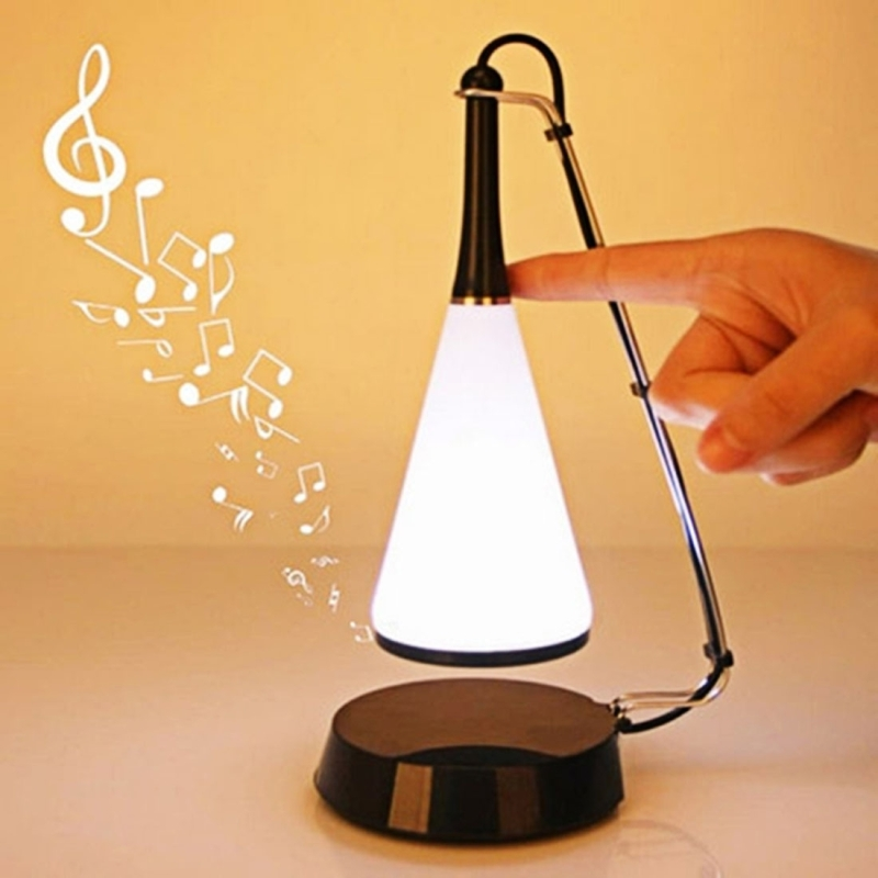 Shs 1118 multifunction music desk light bedroom touch for Bedroom touch table lamps