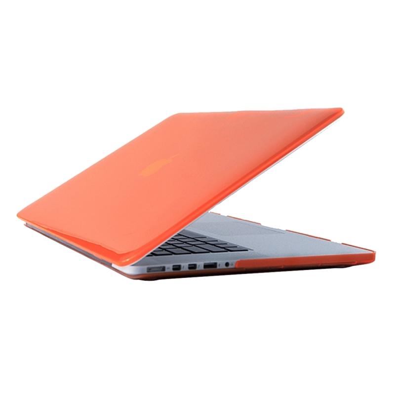 for 2016 new macbook pro 13 3 inch a1706 a1708 laptop crystal pc protective case orange. Black Bedroom Furniture Sets. Home Design Ideas