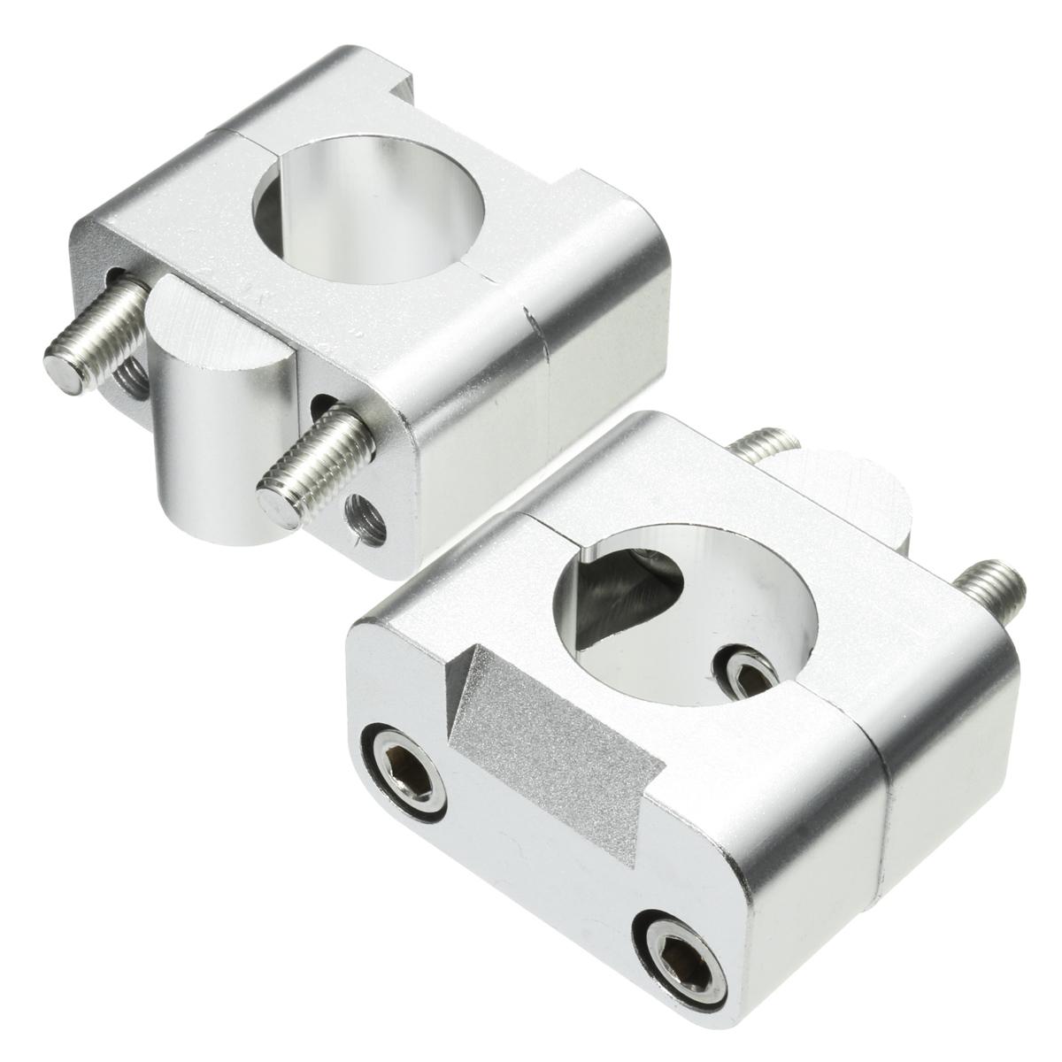 KSTE Motorrad Aluminium Lenker Fat Schraubzwingen Adapter Riser Taper for 1-1//8 28mm Lenker