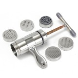 Stainless Steel Household Manual Pasta Machine Small Cranked Noodle Maker Tool