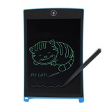 Howshow 8.5 inch LCD Pressure Sensing E-Note Paperless Writing Tablet / Writing Board (Blue)