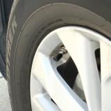 4 PCS Universal Barrel Shape Car Motor Bicycle Tire Valve Caps (Black)