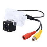 720?540 Effective Pixel PAL 50HZ / NTSC 60HZ CMOS II Waterproof Car Rear View Backup Camera With 4 LED Lamps for 2014-2015 Version Honda Fit